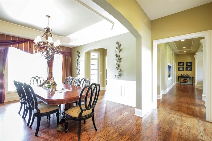 Real Estate Photography - 3602 Grandview, St Charles, IL, 60174 - Dining Room