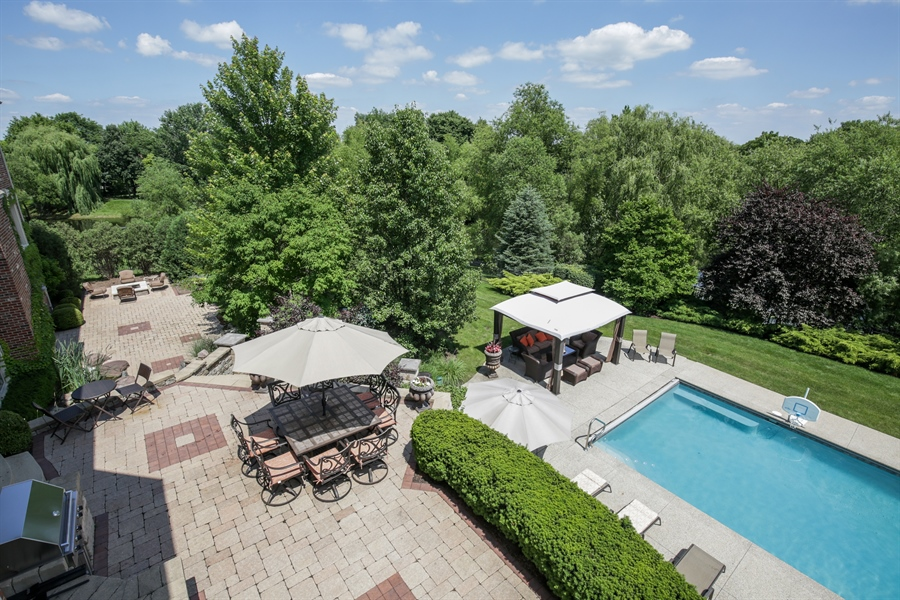 Real Estate Photography - 3602 Grandview, St Charles, IL, 60174 - Back Yard