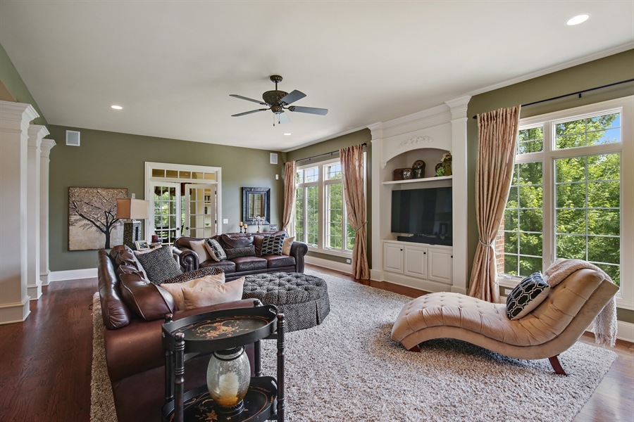 Real Estate Photography - 3602 Grandview, St Charles, IL, 60174 - Family Room