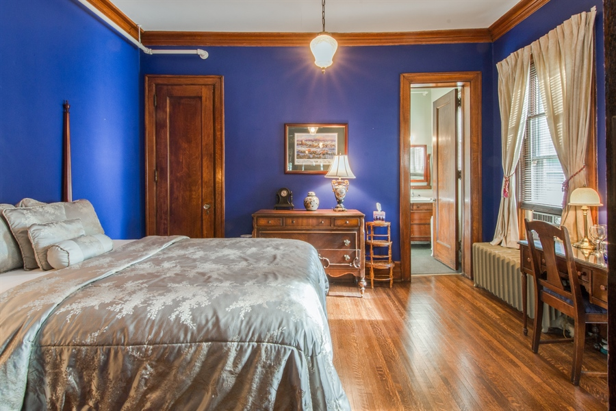 Real Estate Photography - 305 Oregon Avenue, West Dundee, IL, 60118 - Master Bedroom