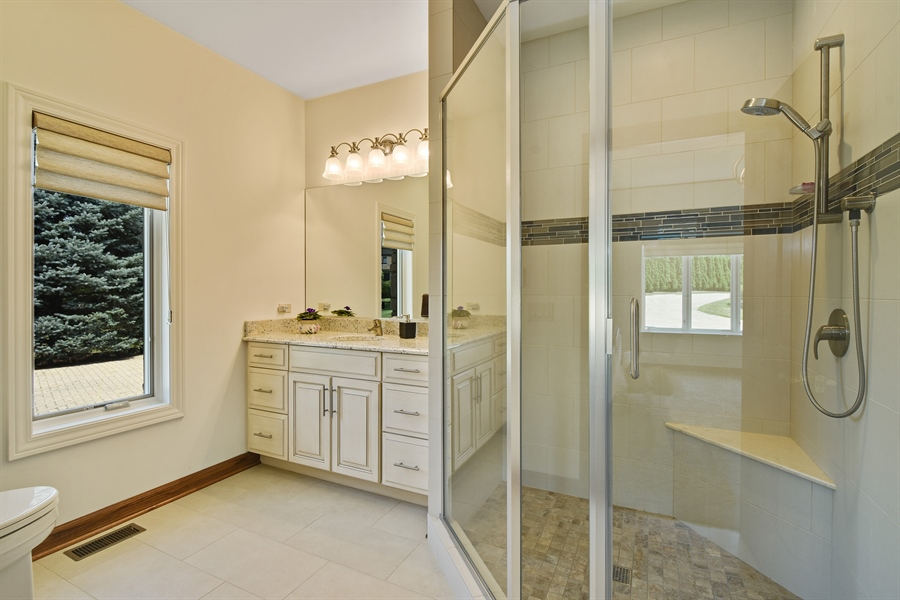 Real Estate Photography - 1314 Dunheath Drive, Barrington, IL, 60010 - Bath to 2nd 1st Floor Master Suite
