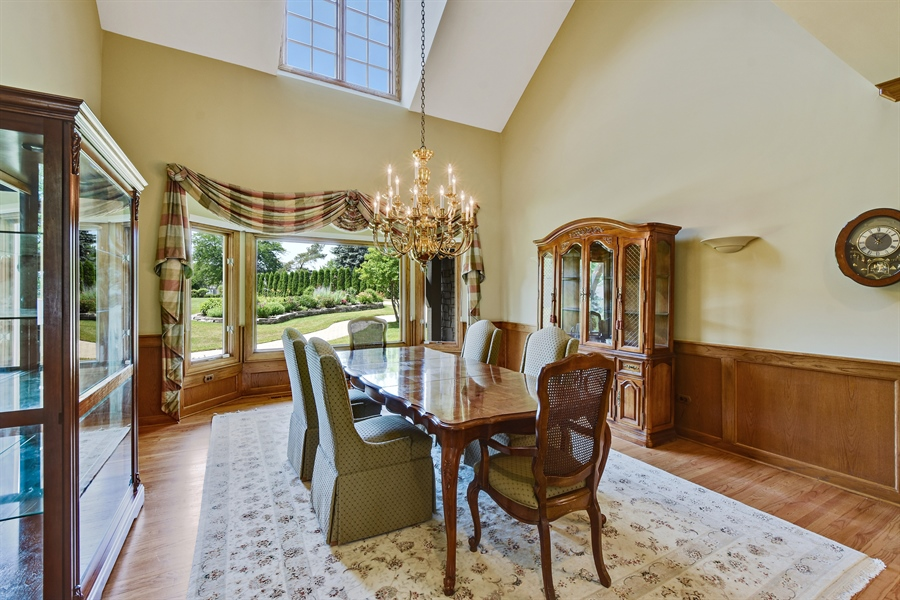 Real Estate Photography - 1314 Dunheath Drive, Barrington, IL, 60010 - Dining Room