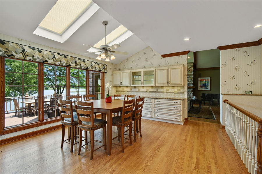 Real Estate Photography - 1314 Dunheath Drive, Barrington, IL, 60010 - Breakfast Area