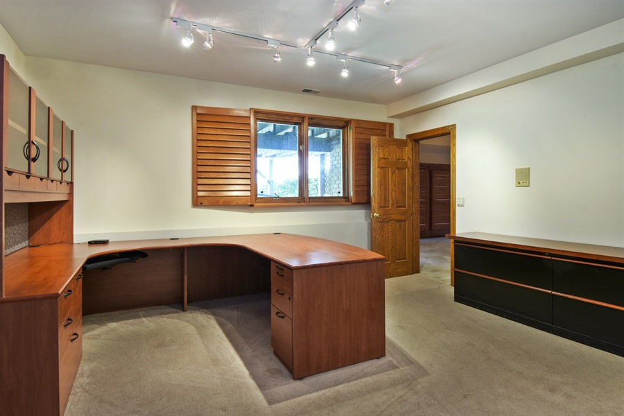 Real Estate Photography - 1314 Dunheath Drive, Barrington, IL, 60010 - Office