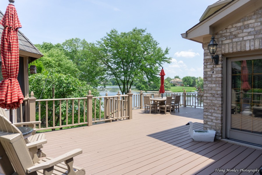 Real Estate Photography - 1314 Dunheath Drive, Barrington, IL, 60010 - Deck