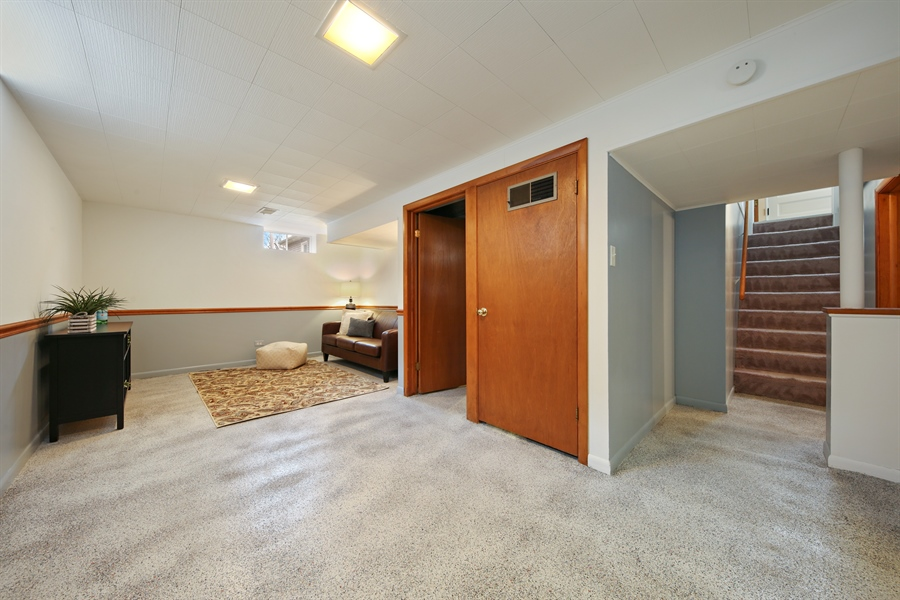Real Estate Photography - 883 Duane Street, Glen Ellyn, IL, 60137 - Basement