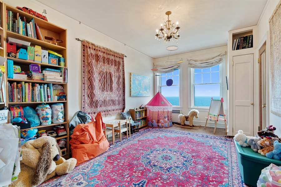 Real Estate Photography - 1120 N. Lake Shore Drive, Unit 8A, Chicago, IL, 60611 - 2nd Bedroom/Playroom