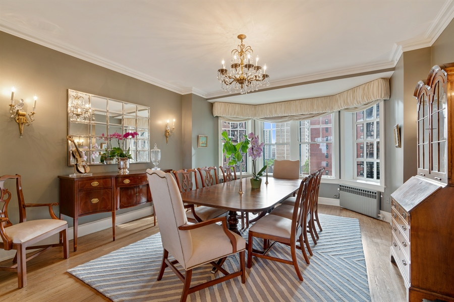 Real Estate Photography - 1120 N. Lake Shore Drive, Unit 8A, Chicago, IL, 60611 - Dining Room