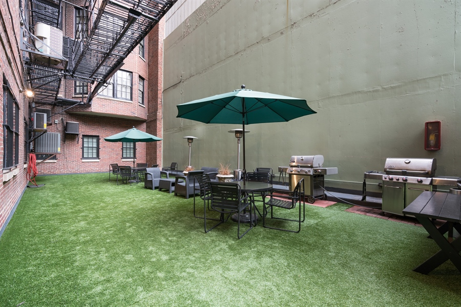 Real Estate Photography - 1120 N. Lake Shore Drive, Unit 8A, Chicago, IL, 60611 - Barbeque / Picnic Area