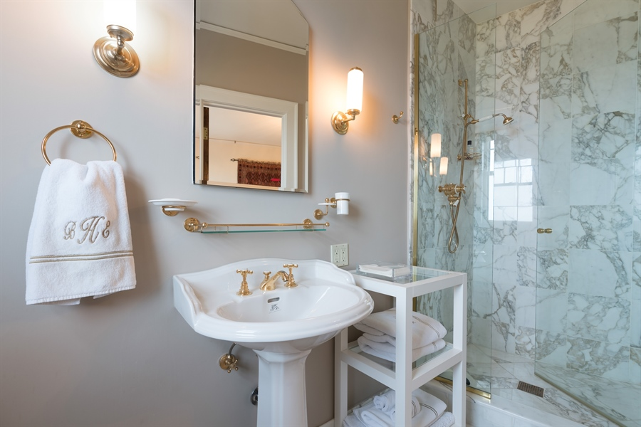 Real Estate Photography - 1120 N. Lake Shore Drive, Unit 8A, Chicago, IL, 60611 - 2nd Bathroom