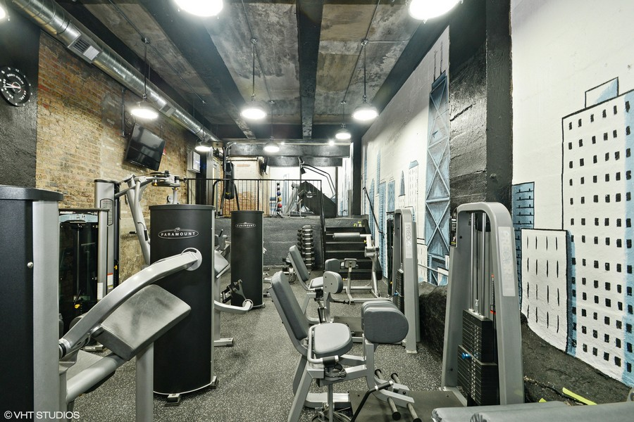 Real Estate Photography - 1120 N. Lake Shore Drive, Unit 8A, Chicago, IL, 60611 - Fitness Center