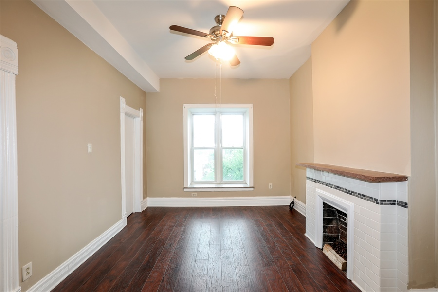 Real Estate Photography - 1652 W. 35th Street, Chicago, IL, 60609 - Living Room