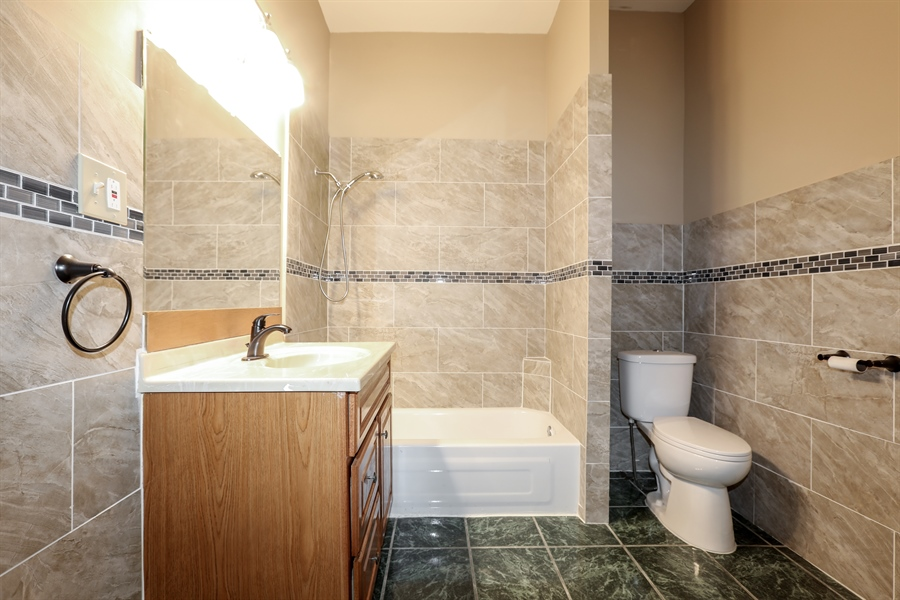 Real Estate Photography - 1652 W. 35th Street, Chicago, IL, 60609 - Master Bathroom