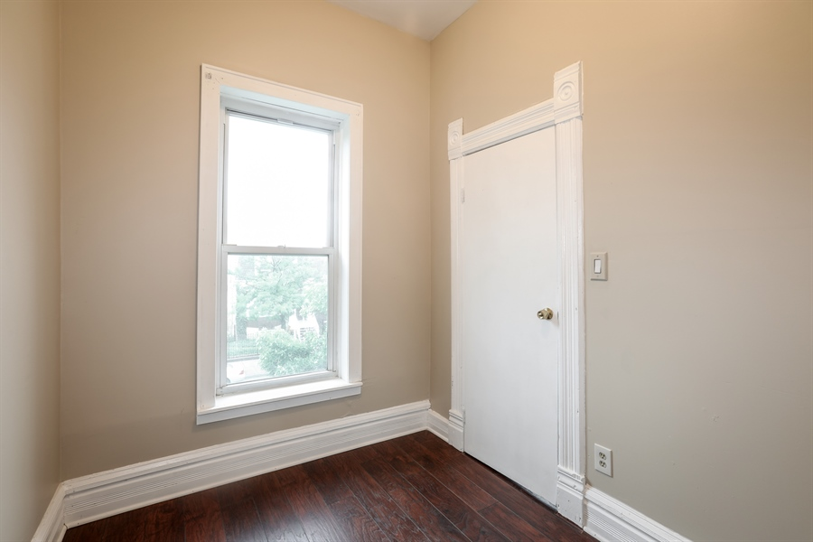 Real Estate Photography - 1652 W. 35th Street, Chicago, IL, 60609 - 2nd Bedroom