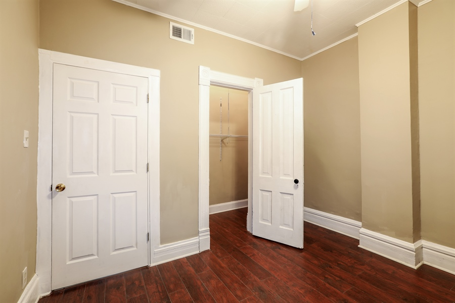 Real Estate Photography - 1652 W. 35th Street, Chicago, IL, 60609 - 3rd Bedroom