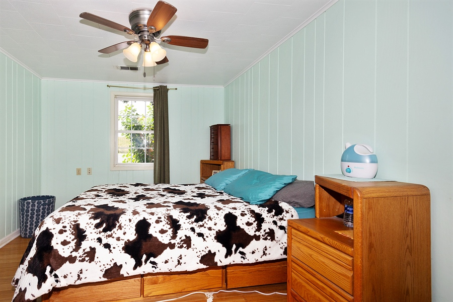 Real Estate Photography - 25764 Cottage Road, Wilmington, IL, 60481 - Master Bedroom