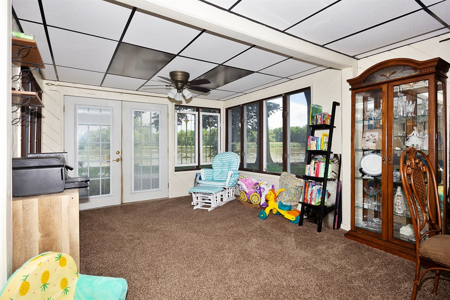 Real Estate Photography - 25764 Cottage Road, Wilmington, IL, 60481 - Sun Room