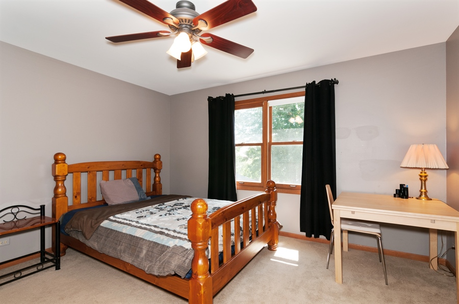 Real Estate Photography - 1508 Meadowland Drive, Naperville, IL, 60540 - 2nd Bedroom