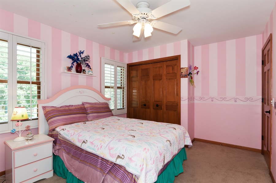 Real Estate Photography - 1508 Meadowland Drive, Naperville, IL, 60540 - Bedroom