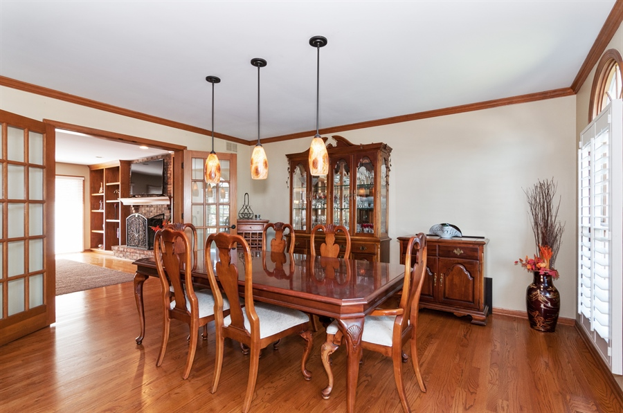 Real Estate Photography - 1508 Meadowland Drive, Naperville, IL, 60540 - Dining Room