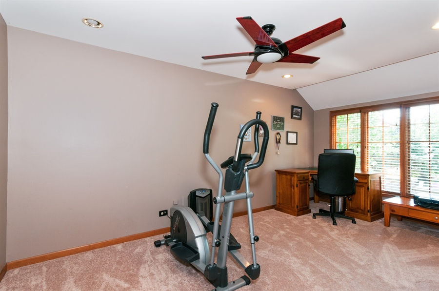 Real Estate Photography - 1508 Meadowland Drive, Naperville, IL, 60540 - Study