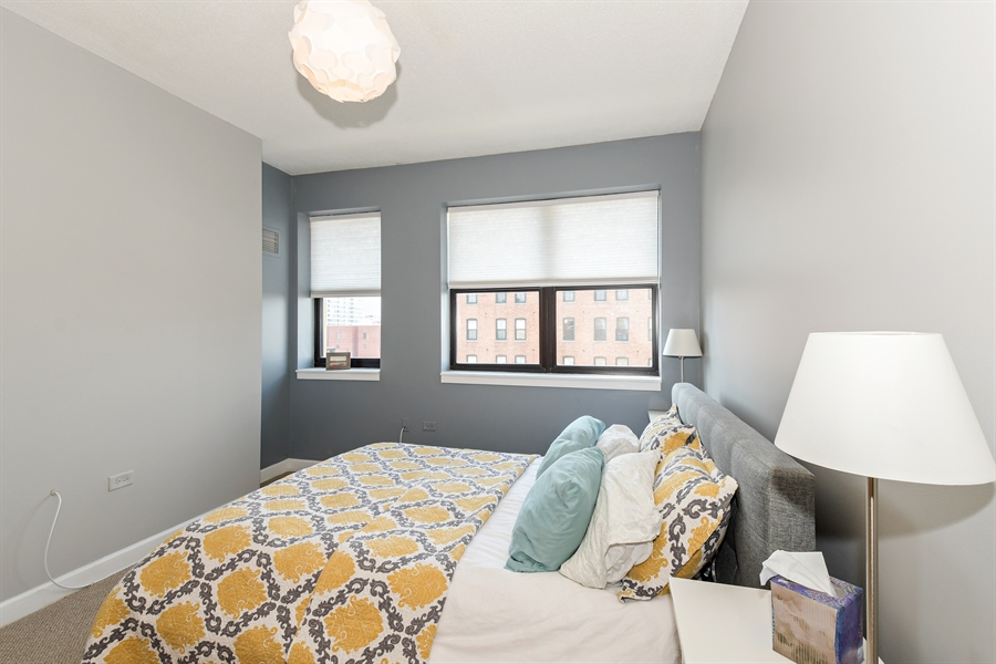 Real Estate Photography - 1529 S. STATE Street, Unit 8D, Chicago, IL, 60605 - Bedroom