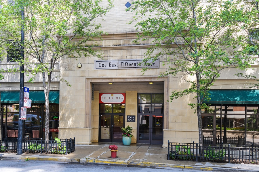 Real Estate Photography - 1529 S. STATE Street, Unit 8D, Chicago, IL, 60605 - Front View