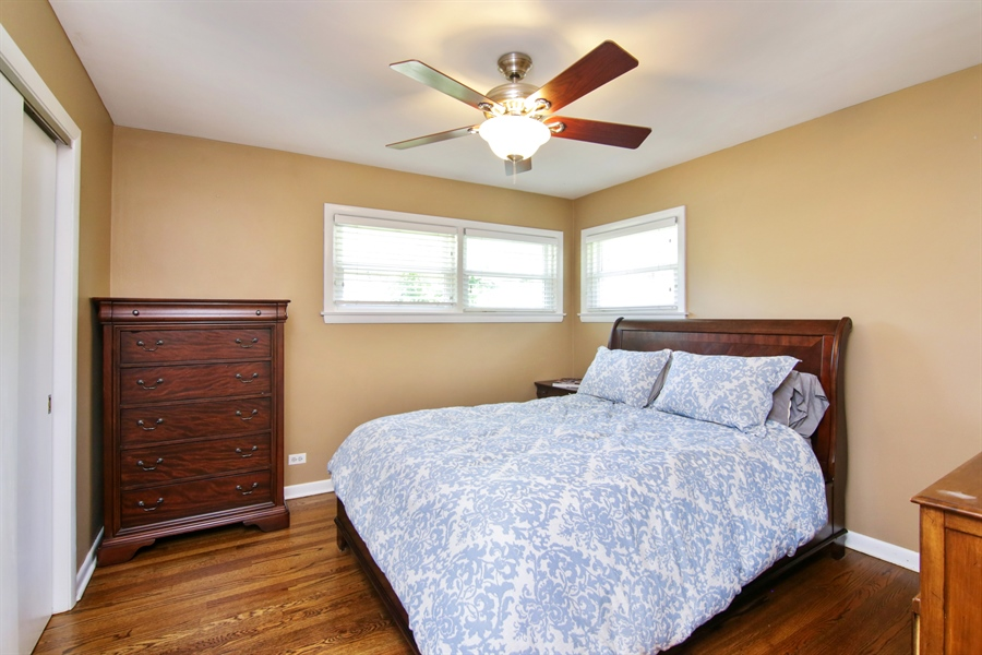 Real Estate Photography - 8 North Louis St, Mount Prospect, IL, 60056 - Master Bedroom
