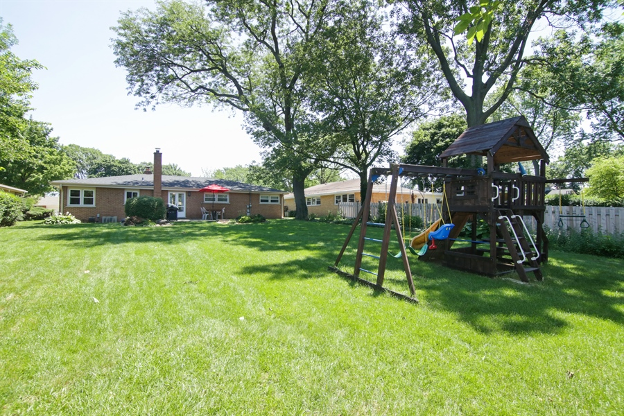 Real Estate Photography - 8 North Louis St, Mount Prospect, IL, 60056 - Rear View