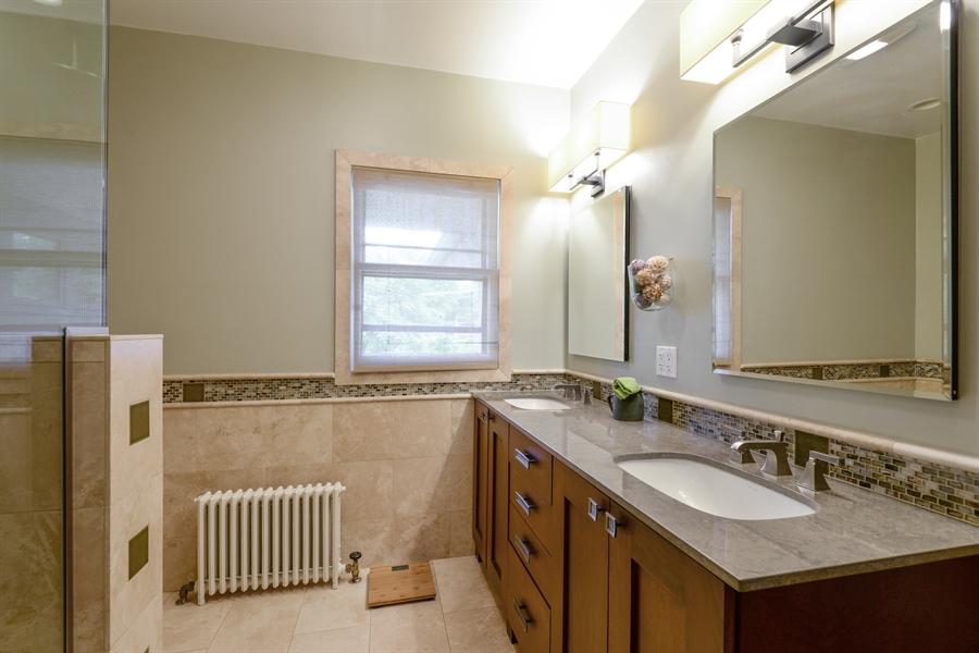 Real Estate Photography - 735 Michigan Ave, Evanston, IL, 60202 - Master Bathroom