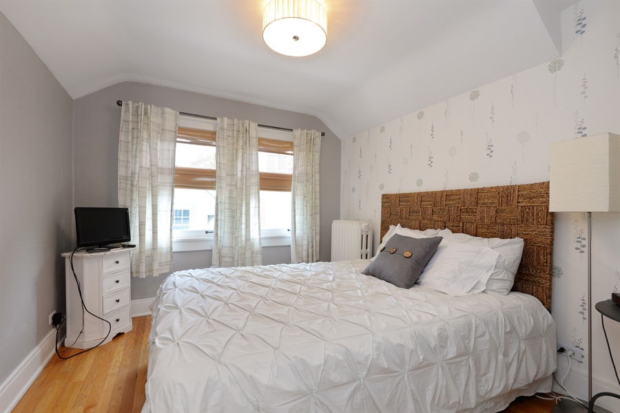 Real Estate Photography - 735 Michigan Ave, Evanston, IL, 60202 - 3rd Bedroom