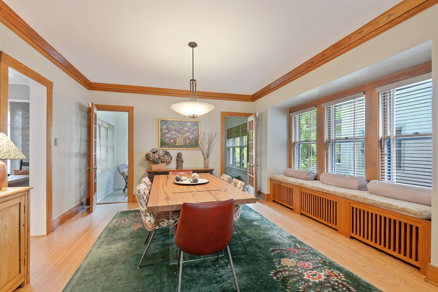 Real Estate Photography - 735 Michigan Ave, Evanston, IL, 60202 - Dining Room