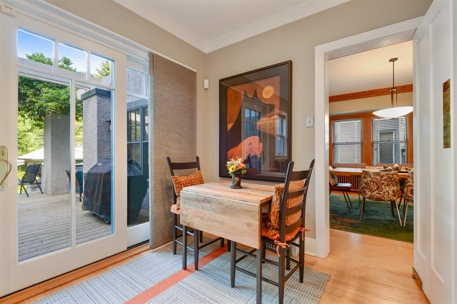 Real Estate Photography - 735 Michigan Ave, Evanston, IL, 60202 - Breakfast Area
