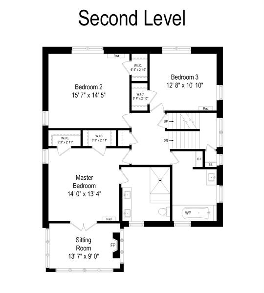 Real Estate Photography - 735 Michigan Ave, Evanston, IL, 60202 - Floor Plan