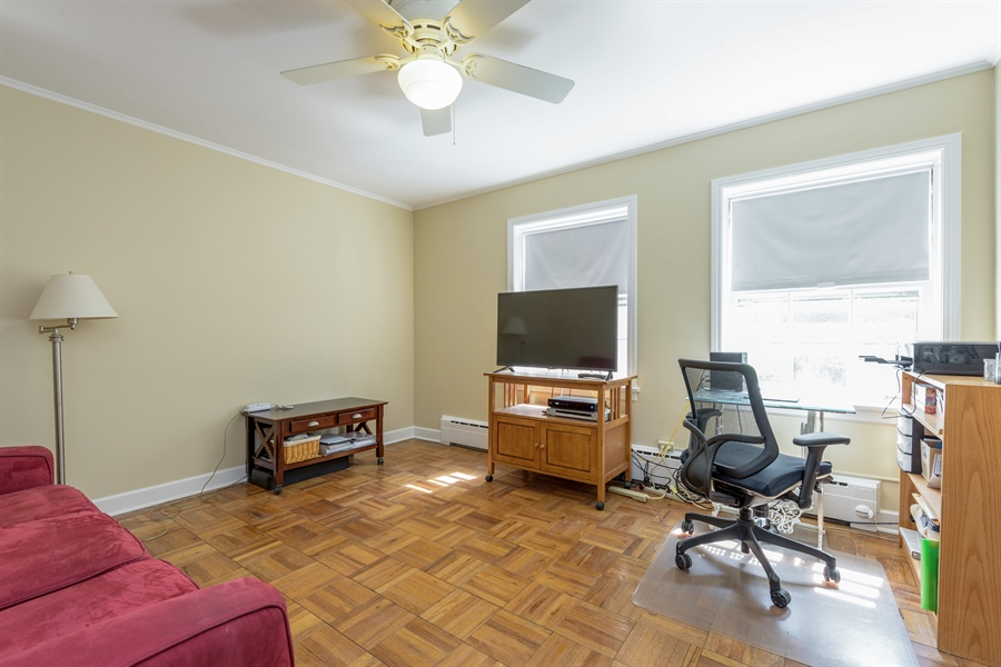 Real Estate Photography - 1406 Hinman Avenue, Unit 1N, Evanston, IL, 60201 - 2nd Bedroom