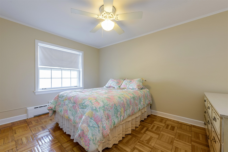 Real Estate Photography - 1406 Hinman Avenue, Unit 1N, Evanston, IL, 60201 - Bedroom