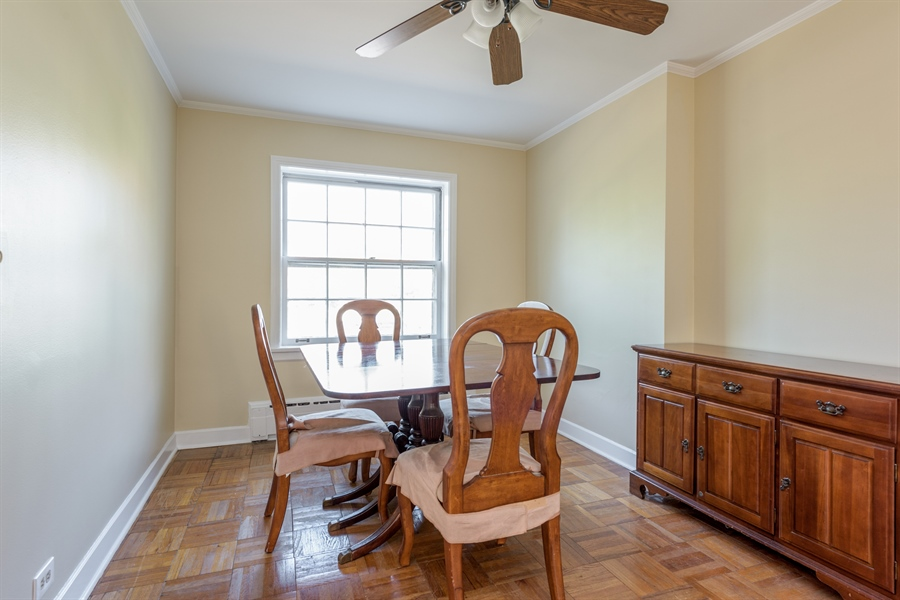 Real Estate Photography - 1406 Hinman Avenue, Unit 1N, Evanston, IL, 60201 - Dining Room