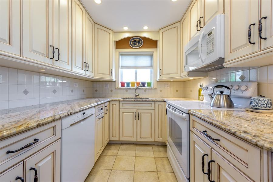 Real Estate Photography - 1406 Hinman Avenue, Unit 1N, Evanston, IL, 60201 - Kitchen