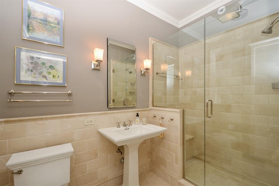 Real Estate Photography - 12 E Scott St, Unit 5, Chicago, IL, 60610 - Master Bathroom