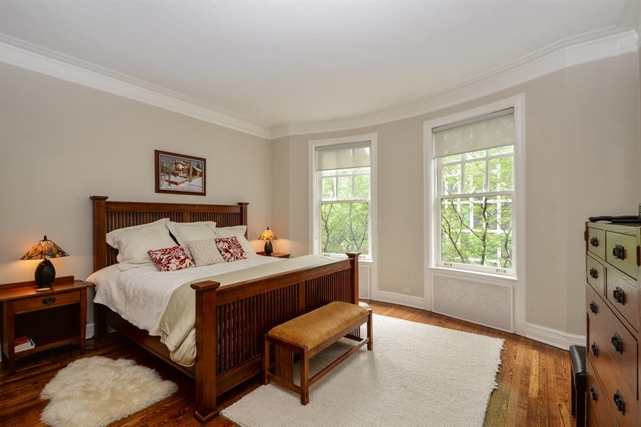 Real Estate Photography - 12 E Scott St, Unit 5, Chicago, IL, 60610 - Master Bedroom