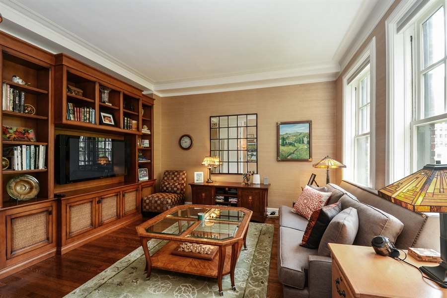 Real Estate Photography - 12 E Scott St, Unit 5, Chicago, IL, 60610 - 2nd Bedroom