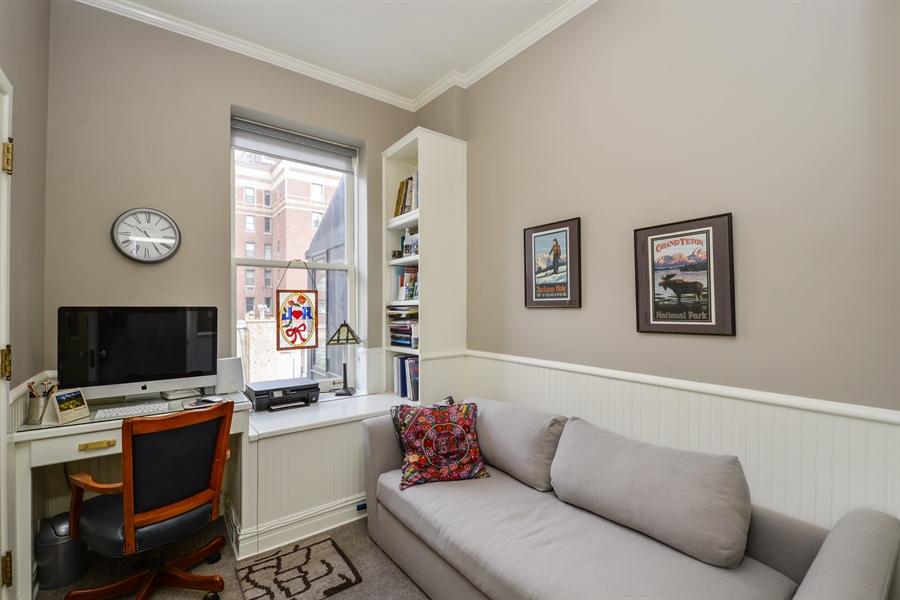 Real Estate Photography - 12 E Scott St, Unit 5, Chicago, IL, 60610 - 3rd Bedroom