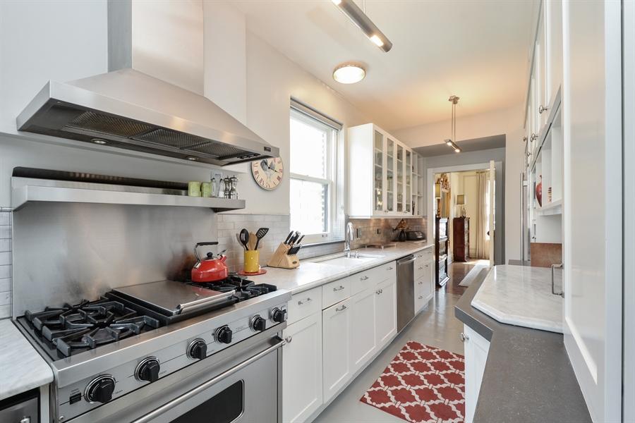 Real Estate Photography - 12 E Scott St, Unit 5, Chicago, IL, 60610 - Kitchen