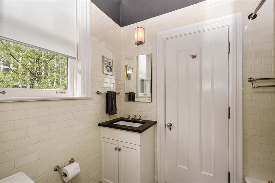 Real Estate Photography - 12 E Scott St, Unit 5, Chicago, IL, 60610 - Bathroom