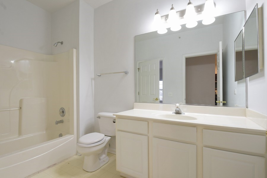 Real Estate Photography - 3243 Stratford Court, Unit 3F, Lake Bluff, IL, 60044 - Bathroom
