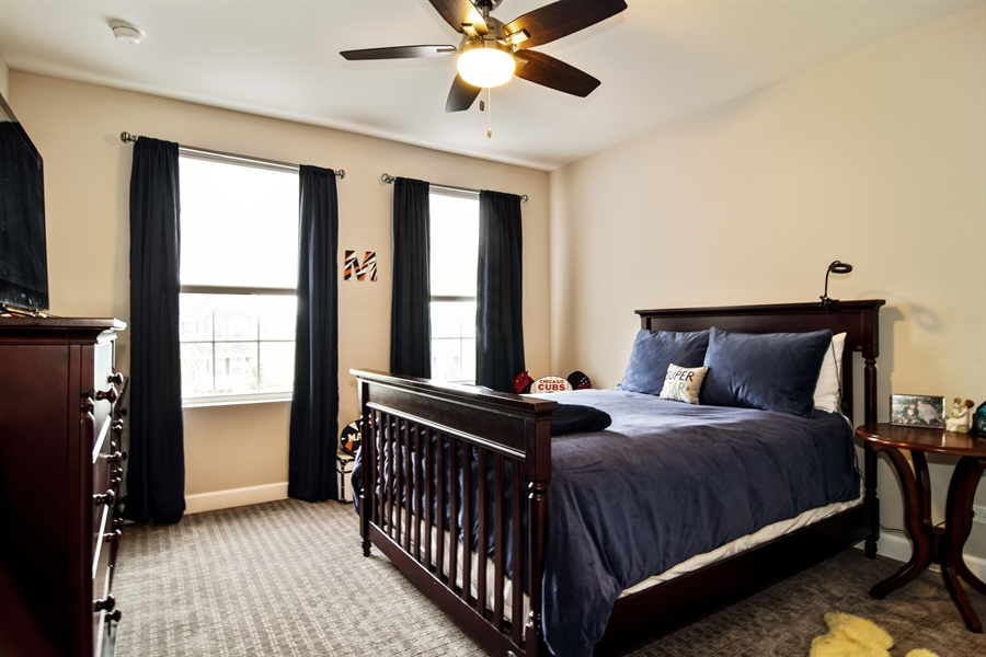 Real Estate Photography - 3575 Elsie Lane, Hoffman Estates, IL, 60192 - 4th Bedroom