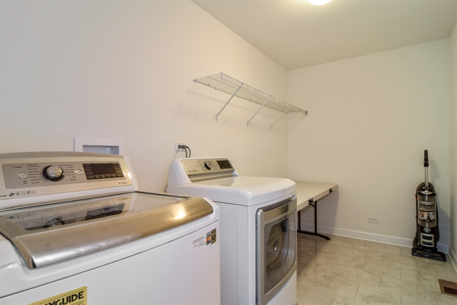Real Estate Photography - 3575 Elsie Lane, Hoffman Estates, IL, 60192 - Laundry Room