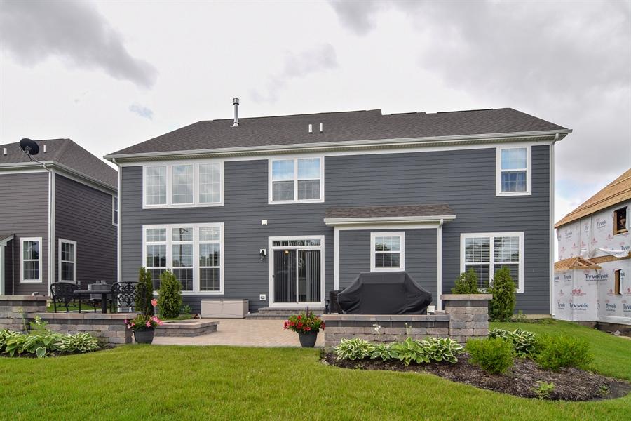 Real Estate Photography - 3575 Elsie Lane, Hoffman Estates, IL, 60192 - Rear View