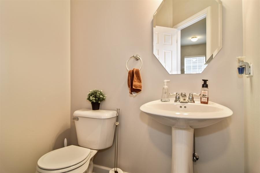 Real Estate Photography - 3575 Elsie Lane, Hoffman Estates, IL, 60192 - Half Bath