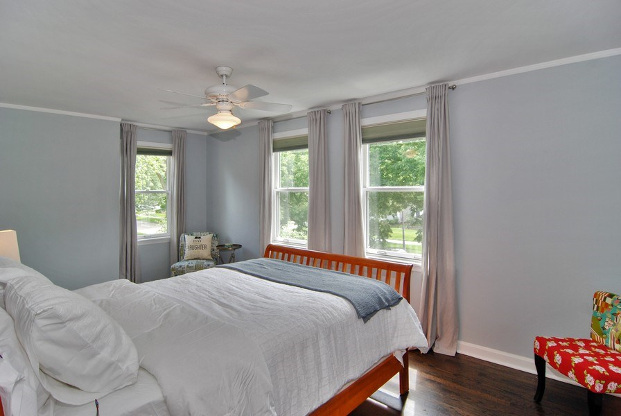 Real Estate Photography - 713 S. Spring Avenue, La Grange, IL, 60525 - Master Bedroom